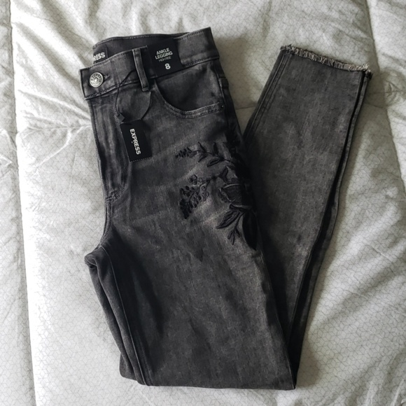 Express Denim - NWT Express High Rise Ankle Legging